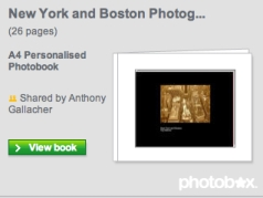 New York and Boston Photobox