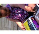 Baby and Magazine
